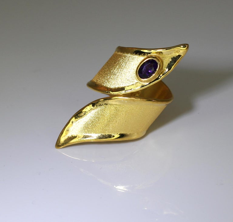 MIDAS Amethyst Ring in 18 Karat Gold