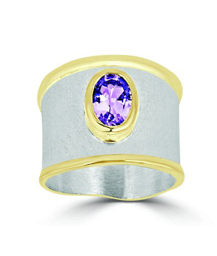 Silver Ring MIDAS Style 06