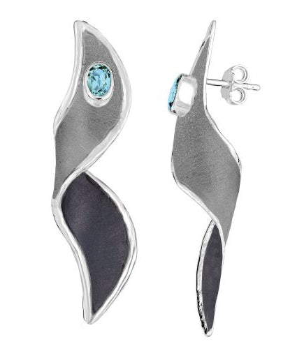 Silver Earrings HEPHESTOS Style 14
