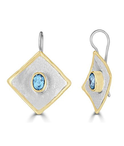 Silver Earrings MIDAS Style 21