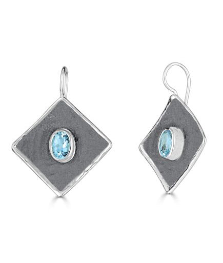 Silver Earrings HEPHESTOS Style 21