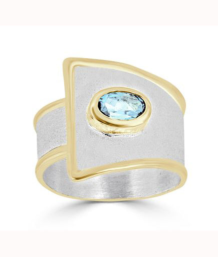 Silver Ring MIDAS Style 02