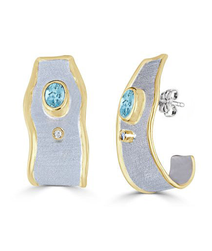 MIDAS Diamond Earrings Style 10