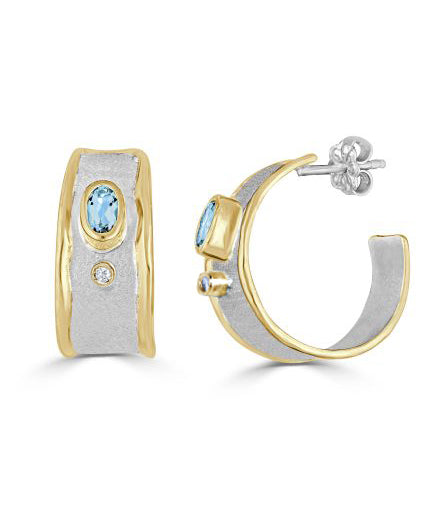 MIDAS Diamond Earrings Style 11