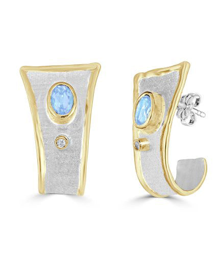 MIDAS Diamond Earrings Style 02