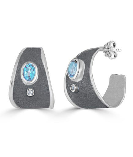 HEPHESTOS Diamond Earrings Style 05