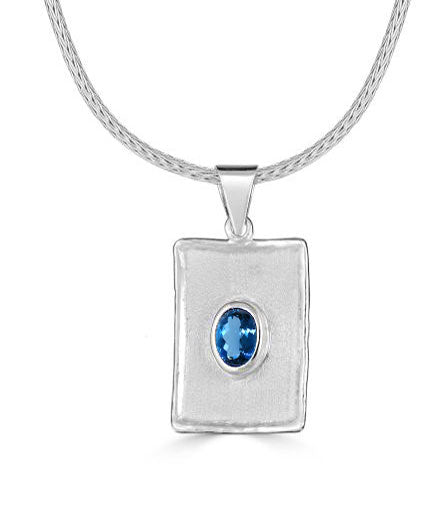 Silver Pendant AMMOS Style 23