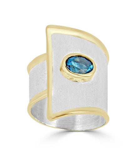 Silver Ring MIDAS Style 09