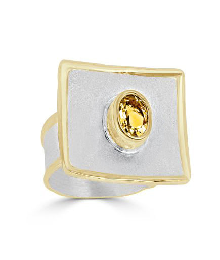 Silver Ring MIDAS Style 22