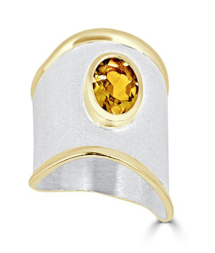Silver Ring MIDAS Style 03