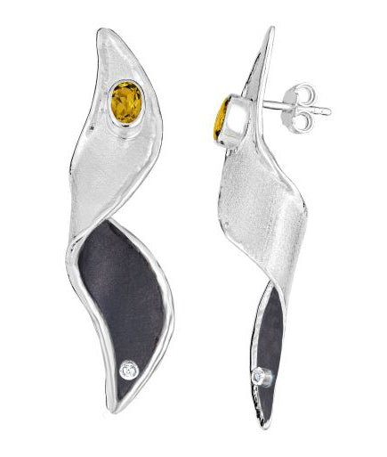 HEPHESTOS Diamond Earrings DUAL Style 14