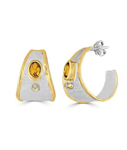 MIDAS Diamond Earrings Style 05