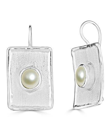 Silver Earrings AMMOS Style 23