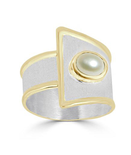 Silver Ring MIDAS Style 08