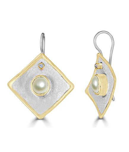 MIDAS Diamond Earrings Style 21