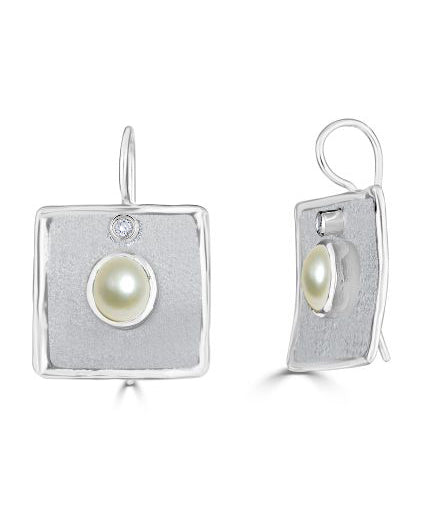 AMMOS Diamond Earrings Style 22