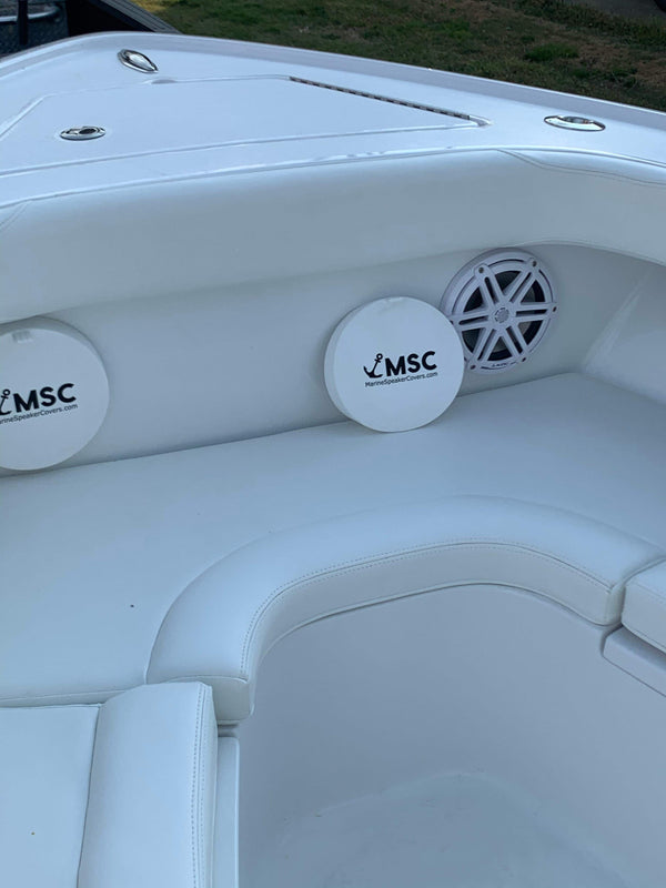 6.5 Inch Pair of Marine Speaker Covers