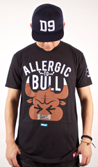 Allergic To Bull T-Shirt Entree Black
