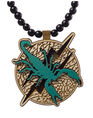 Scorpion Pendant Good Wood Natural
