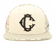 Apache Woven Snapback Crooks & Castles Natural