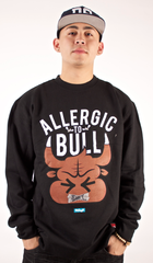 Allergic To Bull Crewneck Entree Black
