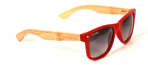Carpentier Sunglasses Silvano Red/Gray Fade