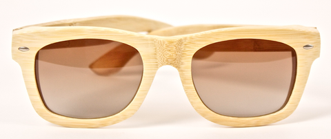 Carpentier Sunglasses Silvano All Wood Tan