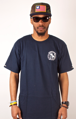 Criminal Crafted T-Shirt Crooks & Castles Navy