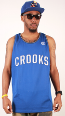 Game Time Jersey Crooks & Castles Blue