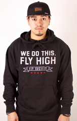 We Do This Hoodie Fly Society Black