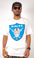 Ninjas T-Shirt Rocksmith White/Blue