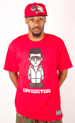 Gangster T-Shirt Rocksmith Red