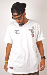 Ninjas 93 3-Button Shirt Rocksmith White