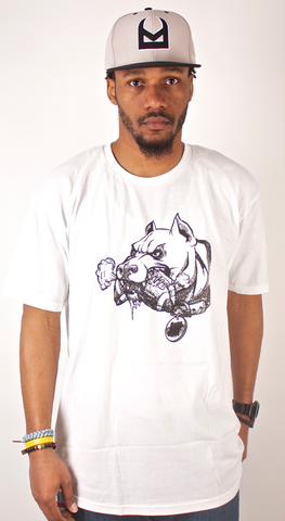 Dawg T-Shirt Undefeated White