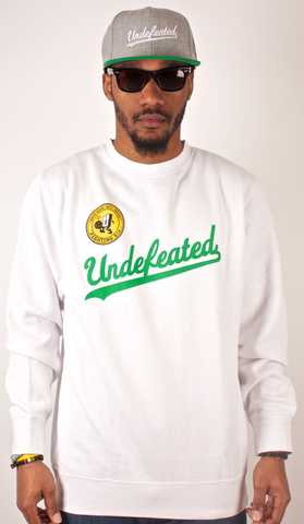 Fighting 5th Crewneck Undefeated White