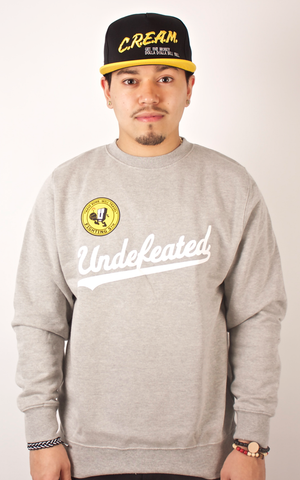Fighting 5th Crewneck Undefeated Gray