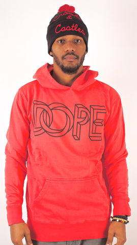 Escher Hoodie Dope Couture Infared