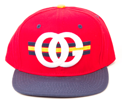 OG Snapback Rocksmith Red/Navy