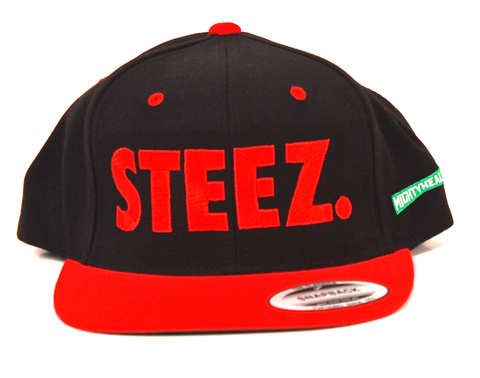 Steez Snapback Mighty Healthy Black/Red