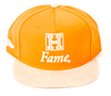 Temple Suede Snapback Hall of Fame Orange/Tan