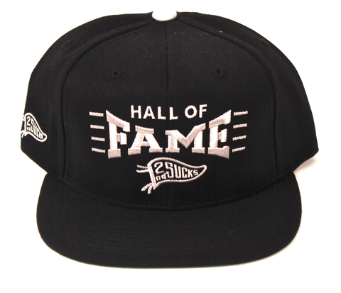 Pinch Snapback Hall of Fame Black