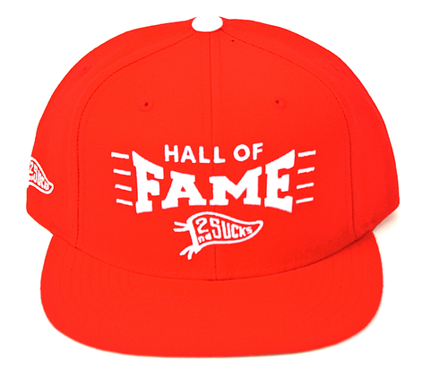 Pinch Snapback Hall of Fame Red
