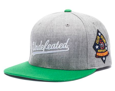 Script Starter Snapback Undefeated Heather/Green