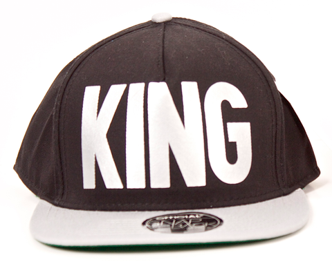 KING Snapback Official Black