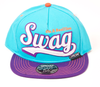 Swag on a Bazillion Snapback Official Teal/Purple