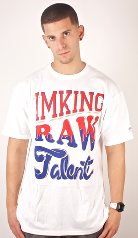 Dripping Talent T-Shirt IMKING White