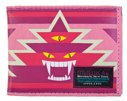 Vision Quest Wallet Mishka Fire Red