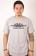 2002-2012 T-Shirt Crooks & Castles Gray