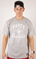 Party & BS T-Shirt Rocksmith Gray