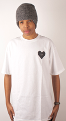 Hundreds & Hearts T-Shirt In4mation White